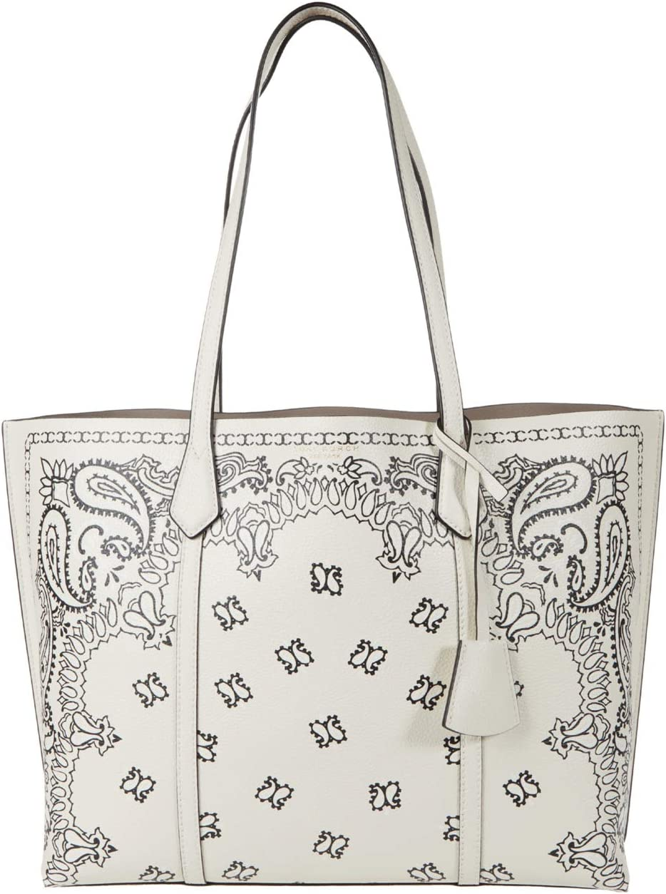 Tory Burch Perry Printed Triple-Compartment Tote