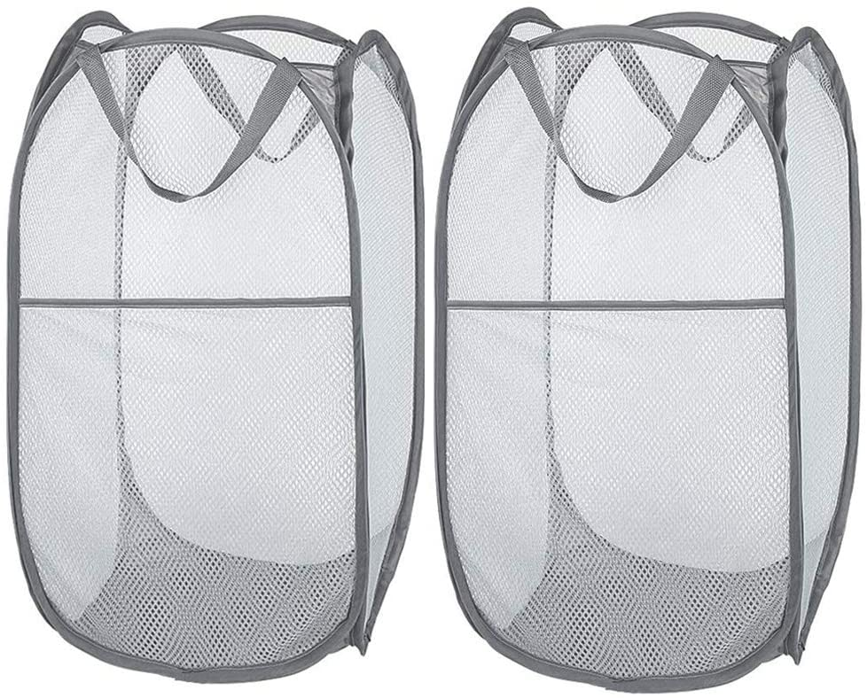 Larpur Popup overseas Mesh Laundry Basket Portable and Cloth Ranking TOP15 Collapsible