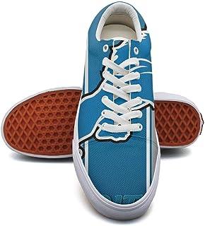 RegiDreae Canvas Slip On Sneakers For Women Music Note Fashion Sneaker