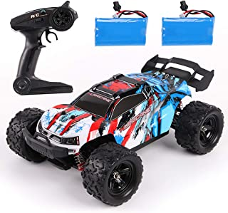 REMOKING RC Car,36KM/H High Speed RC Truck,1/18 Scale 2.4Ghz Remote Control Racing Car Toy ,4X4 Radio Controlled Off-Road ...