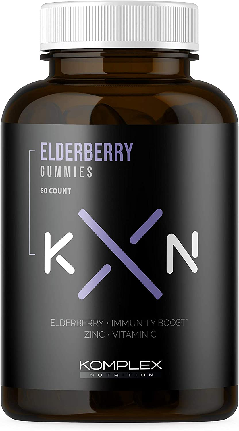 Large discharge sale KompleX New products world's highest quality popular Nutrition Organic Elderberry E 150mg Gummies