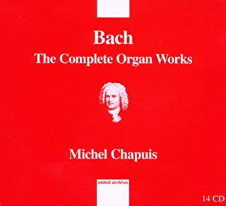 J.S.Bach: Complete Organ Works (Michel Chapuis)
