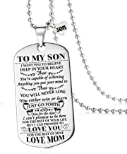 to my son i want you to believe