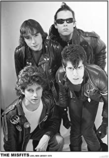Art-I-Ficial The Misfits Rock Band Lodi New Jersey 1979 Music Poster 24x36 inch