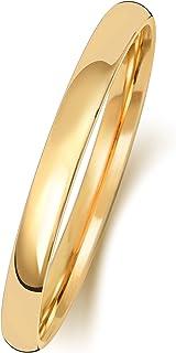Anello Fede Nuziale Uomo/Donna 2mm in Oro giallo 9k (375) WJS150919KY