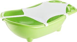 Flipper Baby Shower Bebek Banyo Küvet Seti-4'lü Küvet Seti Yeşil