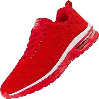 [ANDITTRO] メンズスニーカー メンズシューズ スニーカー 靴 メンズ ランニングシューズ 体育館シューズ ロートップスニーカー 運動靴 中学生 スニーカー 赤 スポーツシューズ メンズ