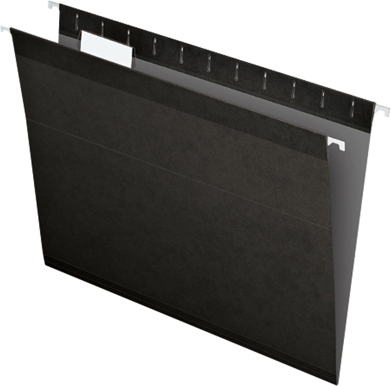 Daily bargain sale Pendaflex 04152 1 5 BLA Hanging Long Beach Mall Reinforced Folders File Letter