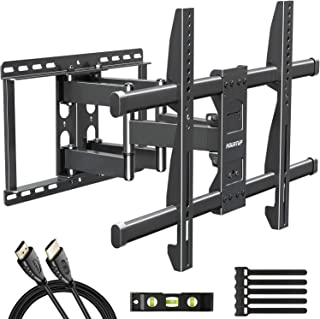 MOUNTUP Full Motion TV Wall Mount Bracket for 42-70 Inch Flat Screen/Curved TVs, Wall Mount TV Bracket - Articulating Arms...