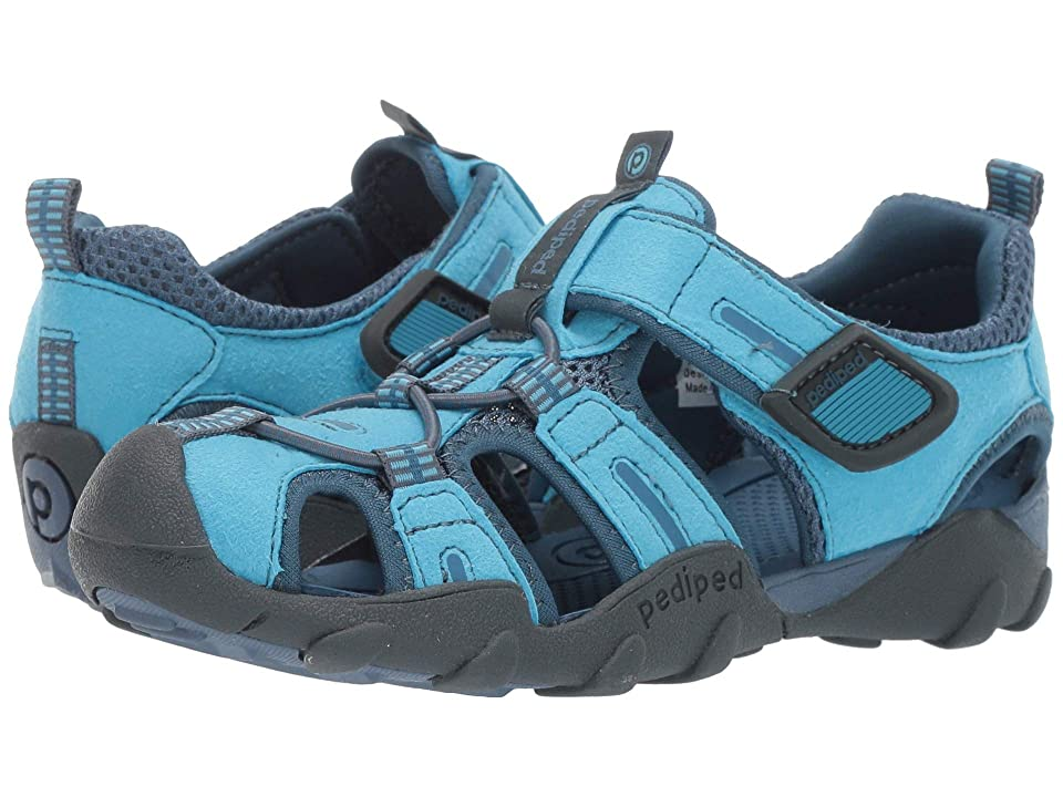 pediped Canyon Flex (Toddler/Little Kid/Big Kid) (Electric Blue) Girls Shoes