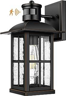Motion Sensor OutdoorLight - AdvancedDusk to Dawn ExteriorLanternFixtures Wall Sconce,Waterproof Porch Light Fixtures...