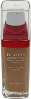 Revlon Age Defying Firming and Lifting Makeup, Medium Beige ( Packaging May Vary )