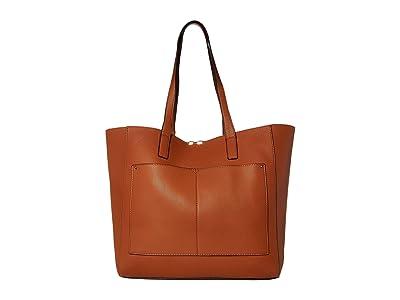 SOLE / SOCIETY Cora Tote (Cognac) Handbags