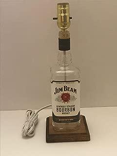 Jim Beam Lamp, Jim Beam Bottle Lamp, Jim Beam Kentucky Straight Bourbon Whiskey