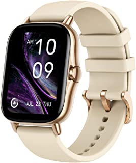 "Amazfit GTS 2 Smart Watch, 1.65"" AMOLED Display, Built -in GPS, SpO2 & Stress Monitor, Bluetooth Phone Calls, 3GB Music St..."
