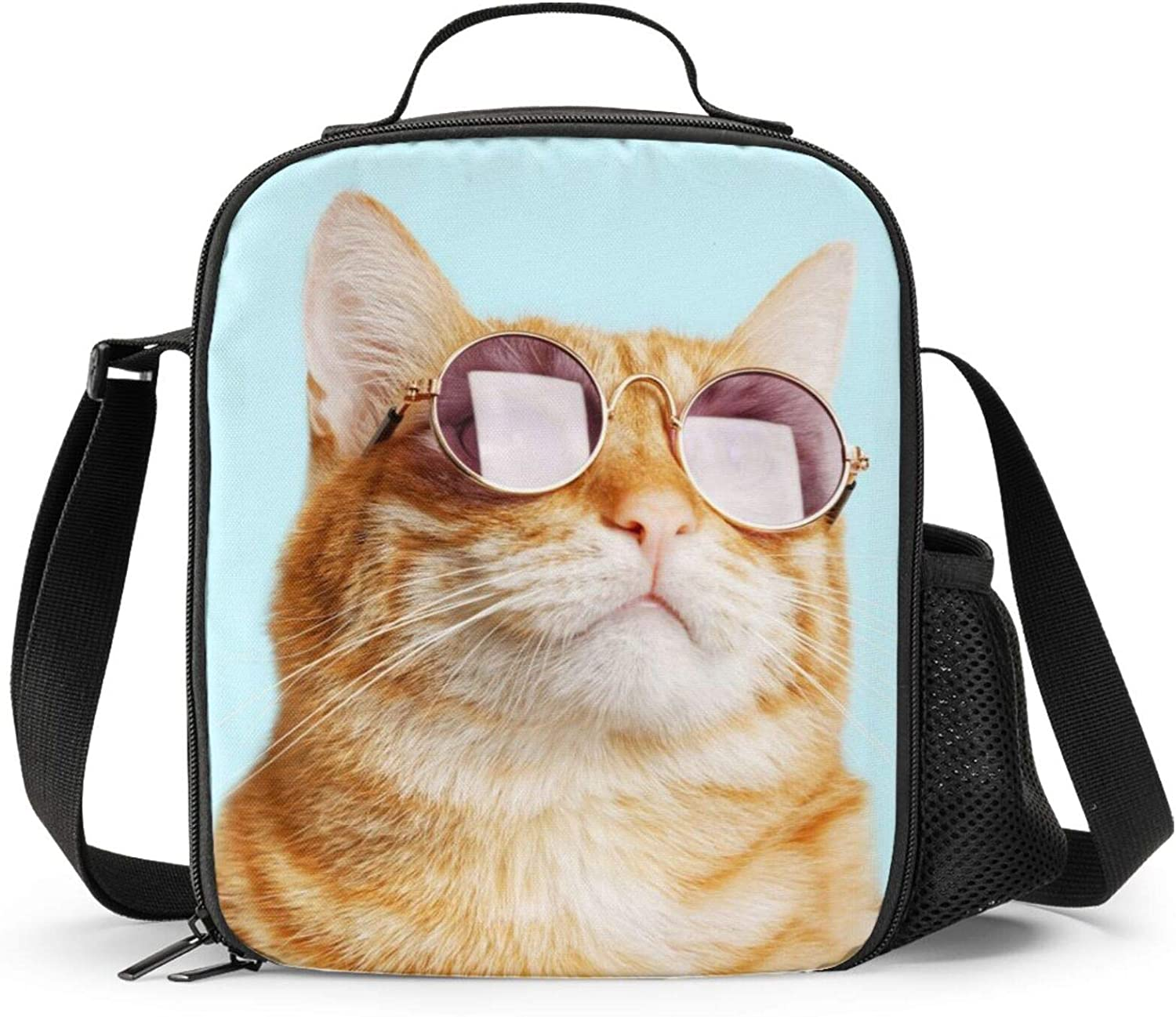 Ranking TOP8 PrelerDIY Sunglasses Cat Lunch Box Insulated for Kid Gifts -
