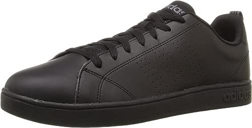 Adidas NEO Men's Advantage Clean VS Lifestyle Tennis schuhe,schwarz schwarz Lead,7.5 M US