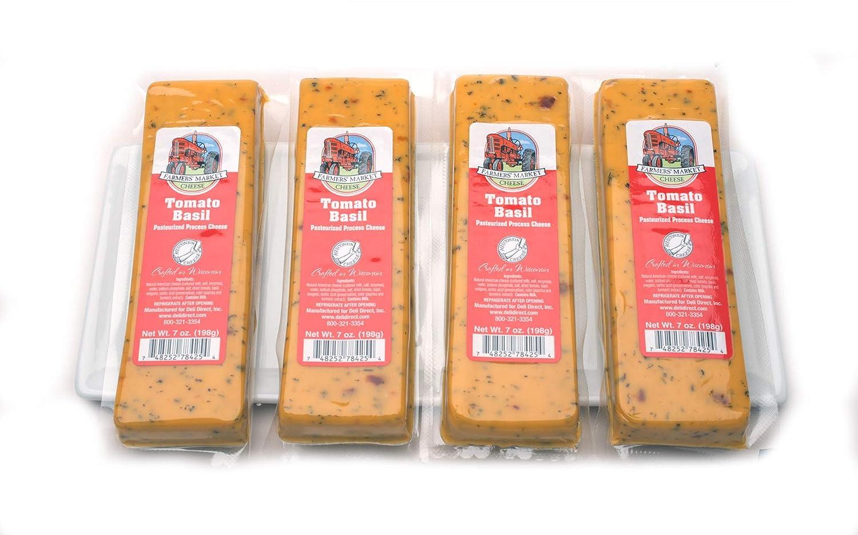 Farmers Market Tomato Basil Cheese 4 7oz Block Blocks Kansas Ranking TOP14 City Mall
