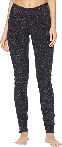 Glacial Fleece Printed Leggings