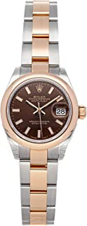 Rolex Datejust Mechanical (Automatic) Brown Dial Womens Watch 279161 (Certified Pre-Owned)