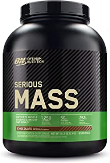 Optimum Nutrition Serious Mass Weight Gainer Protein Powder, Vitamin C, Zinc and Vitamin..