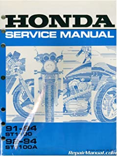 U61MY303 1991-1994 Honda ST1100 and 1992-1994 Honda ST1100A Service Manual