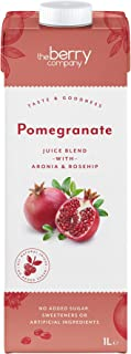 The Berry Company Pomegranate Juice Blend with Aronia & Rosehip, 1 Litre