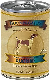 Hound & Gatos Grain Free Gamebird Canned Dog Food - 13 oz (12 can case