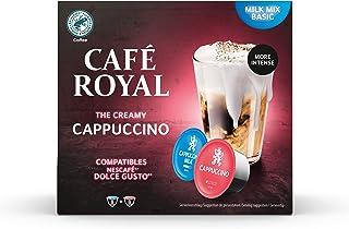 Café Royal Cappuccino 48 capsules Compatibles avec le système Nescafé (R)* Dolce Gusto (R)* - Nouveau: plus de crème et p...