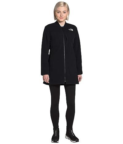 The North Face TNF Reversible Long Fleece Jacket (TNF Black) Women