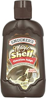 Smucker's, Magic Shell, Ice Cream Topping, Chocolate Fudge, 7.25oz Bottle (Pack of 3)