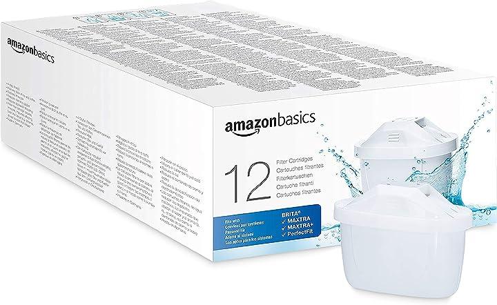 Cartuccia filtrante per acqua amazon basics 1041107