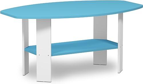 Furinno 11179LBL Simple Design, Coffee Table, Light Blue