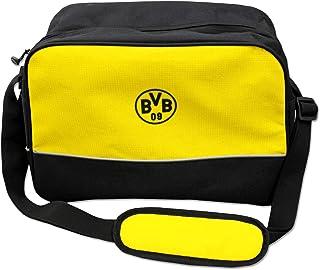 Borussia Dortmund Erwachsene BVB-Schultertasche Tasche, schw