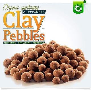 Best Organic Expanded Clay Pebbles Grow Media - Orchids • Hydroponics • Aquaponics • Aquaculture Cz Garden (2 LBS Cz Garden Expanded Clay Pellets Packaging May Vary) Reviews