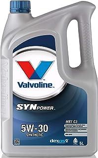 Valvoline Motoröl Motorenöl Motor Motoren Öl Motor Engine Oil Benzin Diesel SynPower MST C3 SAE 5W 30 5L