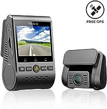 VIOFO A129 Dual 2-Channel Full HD 1080P 30FPS | 2CH Car Dash Cam with GPS Logger