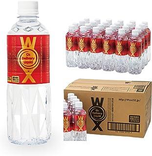 酸素水 酸素補給水 高濃度酸素水WOX ウォックス500ml 24本セット