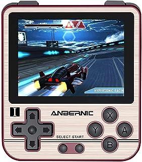 Anbernic RG280V Console de Jeux Portable 2,8 pouces IPS, 16Go Console Portable Retro Open Source System, 32GB TF Card avec...