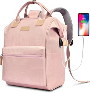 Best pink backpack dimensions Reviews