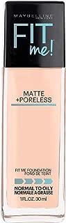 matte and poreless foundation