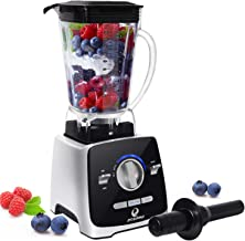 Professional Countertop Blender, 8-in-1 Food Processor, 1400W High Speed Blender, 72oz Container,Variable Speed,Self Cleaning,Powerful Blade for Easily Crushing Ice, for Shakes, Smoothies, Food Prep, and Frozen Blending
