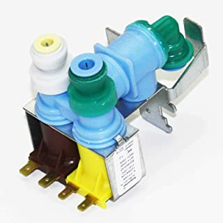 Water Valve WP12544124 AP6005465 PS11738514 for Whirlpool Kenmore Refrigerator