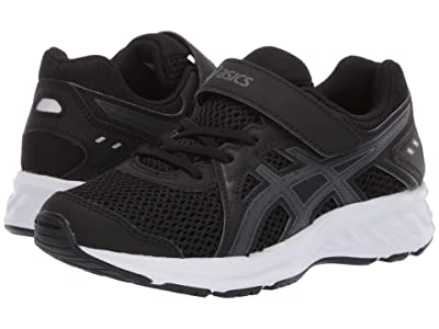 ASICS Kids Jolt 2 PS (Toddler/Little Kid) (Black/Steel Grey) Boys Shoes