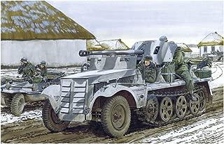 Dragon Models 5cm PAK 38 AUF Zugkraftwagen 1T Building Kit, 1/35-Scale