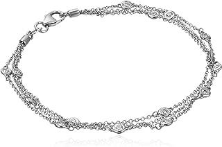 floating diamond bracelet