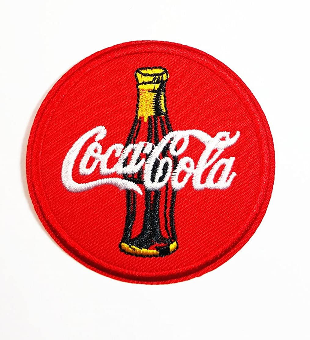 Enjoy Coca Cola Coke Soft Drink band logo patch Jacket T-shirt Sew Iron on Patch Badge Embroidery