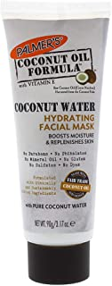 Palmer's Coconut Oil Formula Coconut Water Hydrating Facial Mask, 3.17 Ounces