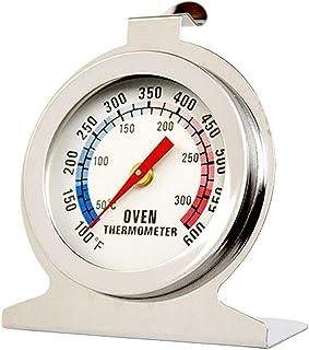 Termometro per fornello da forno con quadrante in acciaio inossidabile, indicatore della temperatura di monitoraggio della...