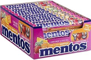 Mentos Fruit Chewy Dragee- grootverpakking met 40 rollen